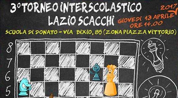 3° Torneo Interscolastico Di Scacchi Alla Di Donato