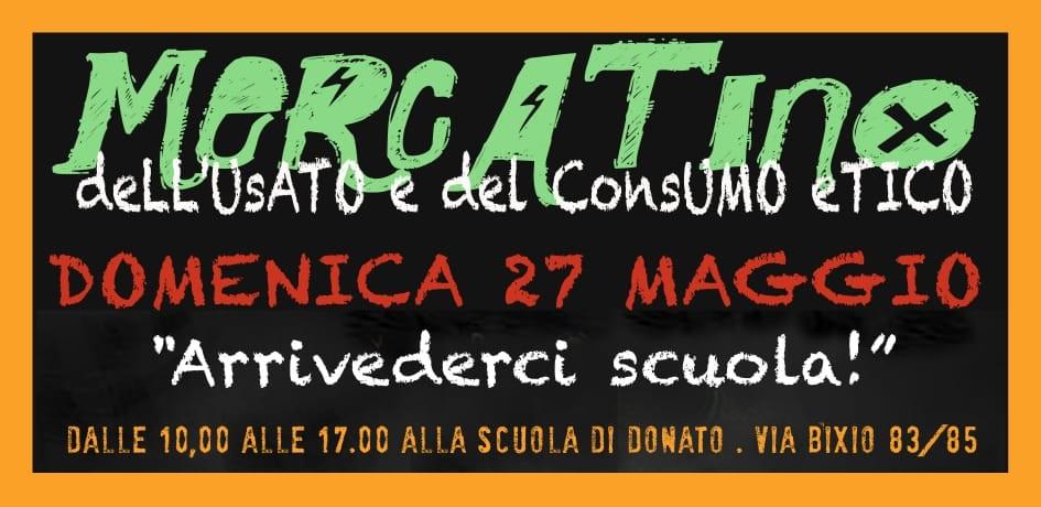 MERCATINO dell'usato e del consumo etico – 27 maggio 2018