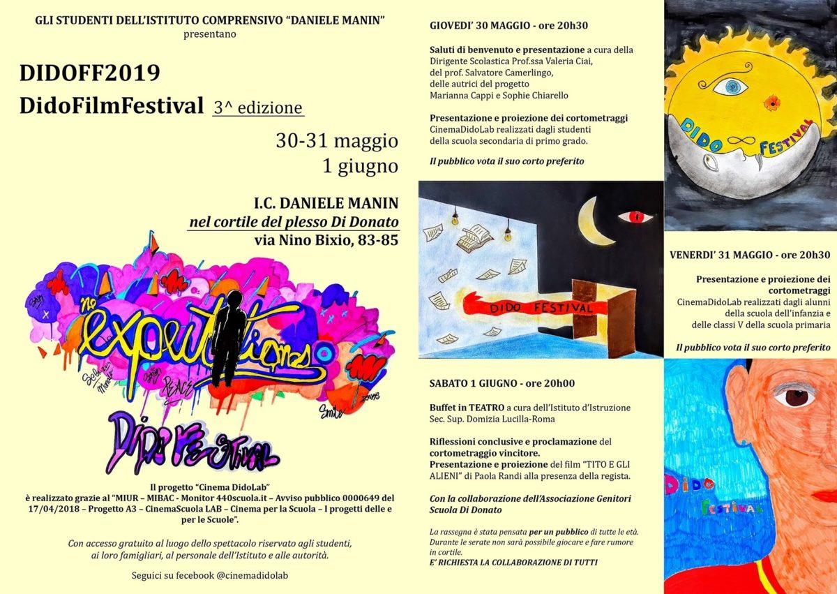 DIDO FILM FESTIVAL – 3° edizione – 📣 30 – 31 maggio e 1 giugno